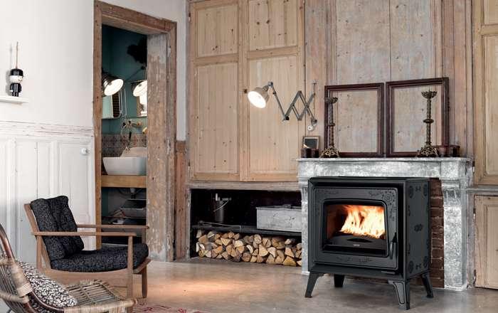 Poêle à bois gamme Préférence, Locufier Perdreau installateur Poêle à bois à Sézanne, esternay, Montmirail, Marne, 51